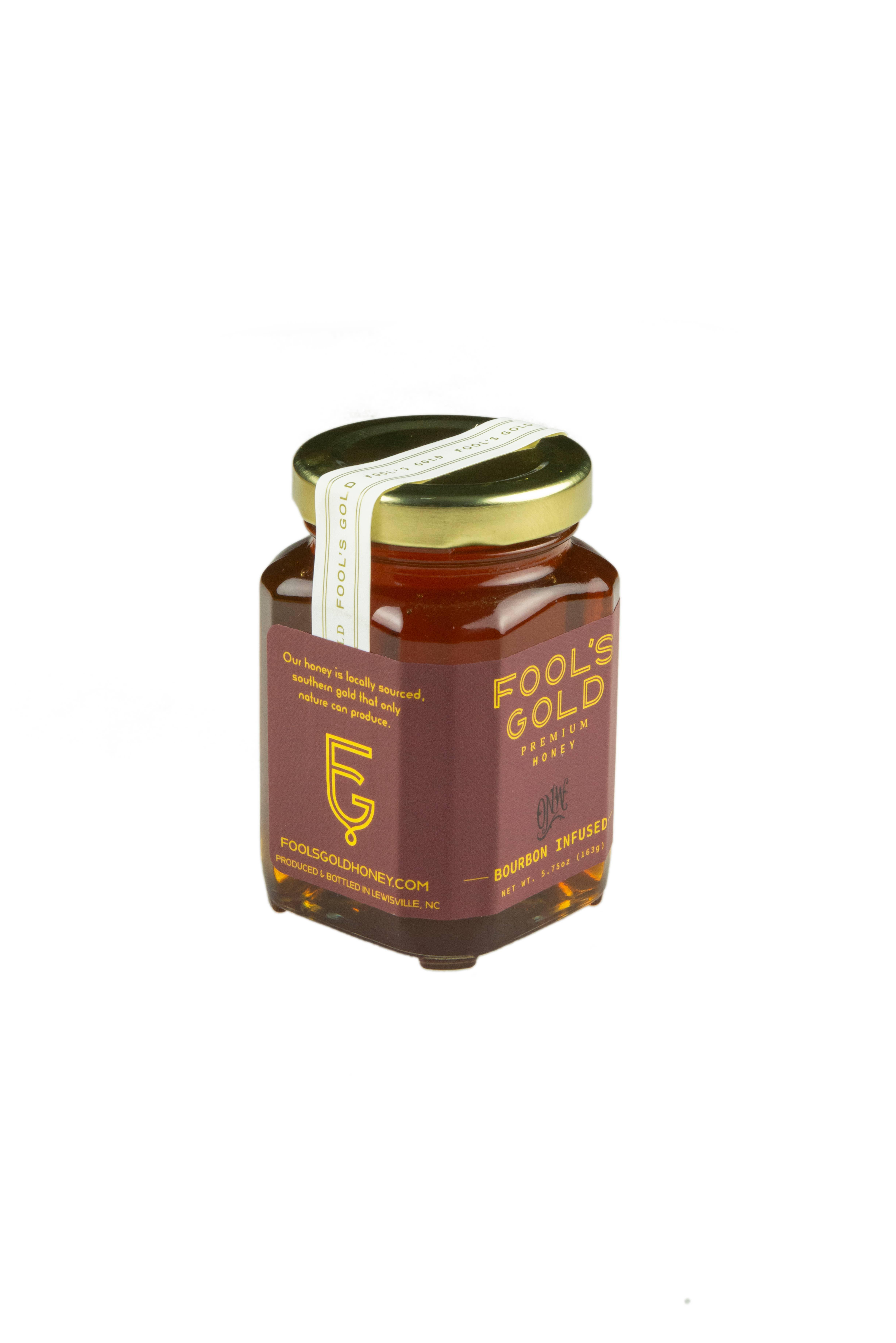 5.75oz Bourbon Infused Honey | Trada Marketplace