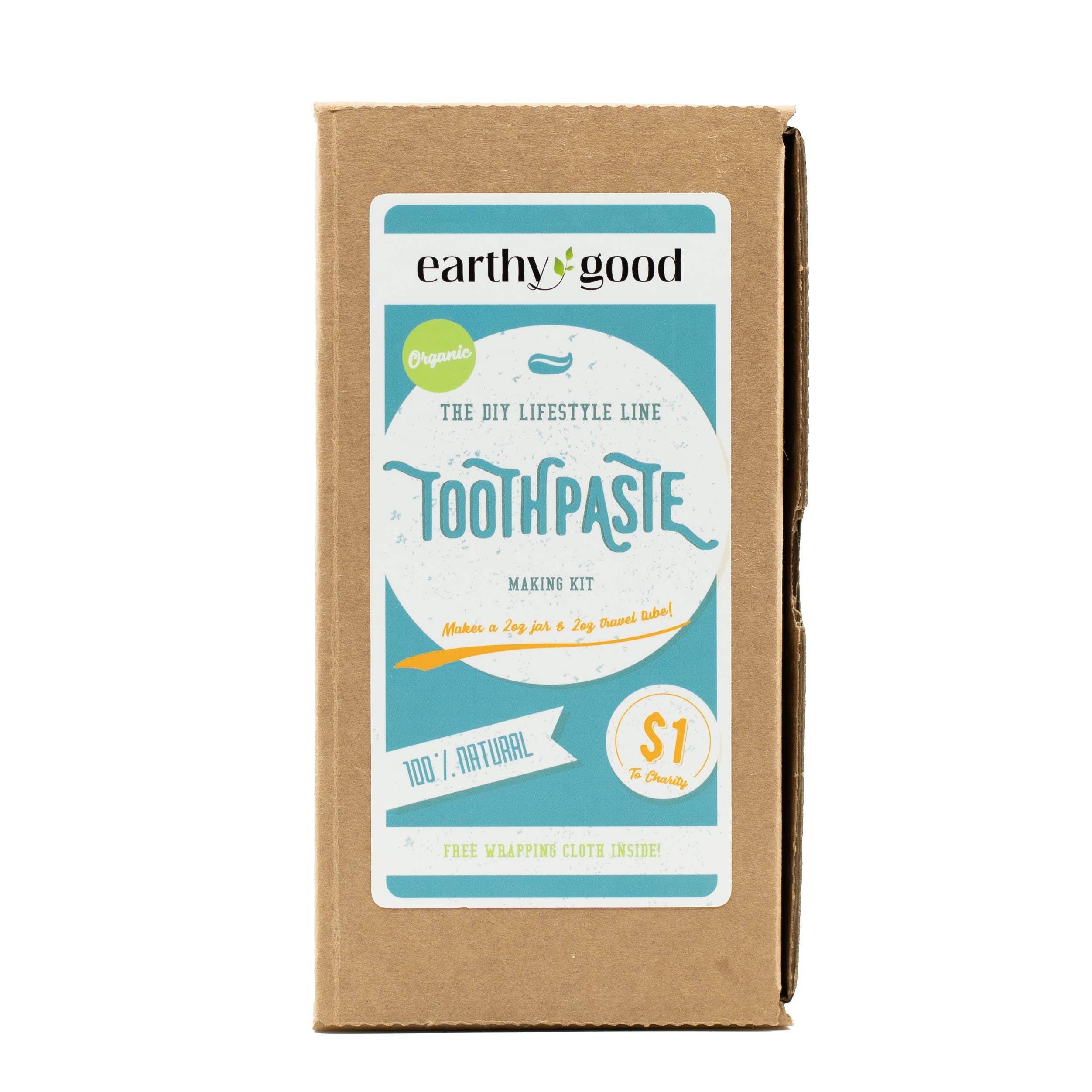 Earthy Good DIY Toothpaste Kit ( Adults )   Trada Marketplace