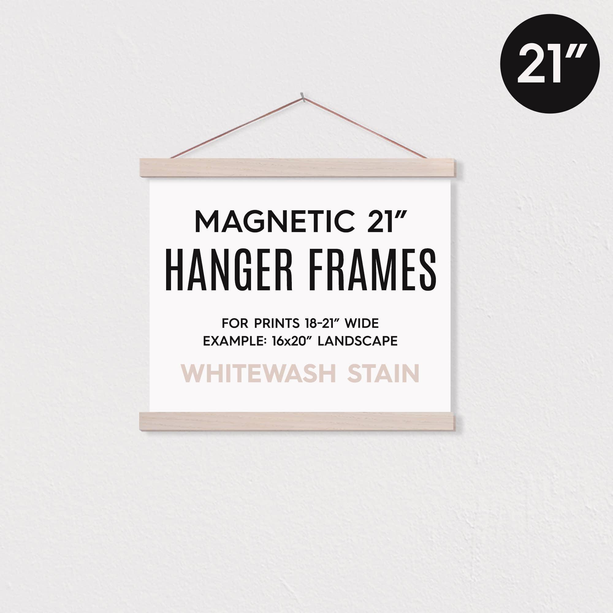 """21"""" MAGNETIC Poster Hanger Frame™ for 16x20"""" Landscape   Trada Marketplace"""