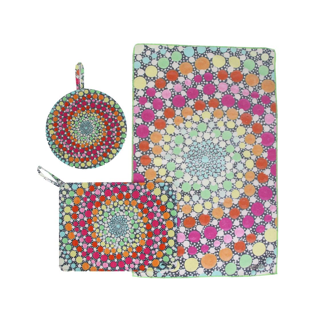 Trivet & Towel Set -  Amy Diener - Lollipop | Trada Marketplace