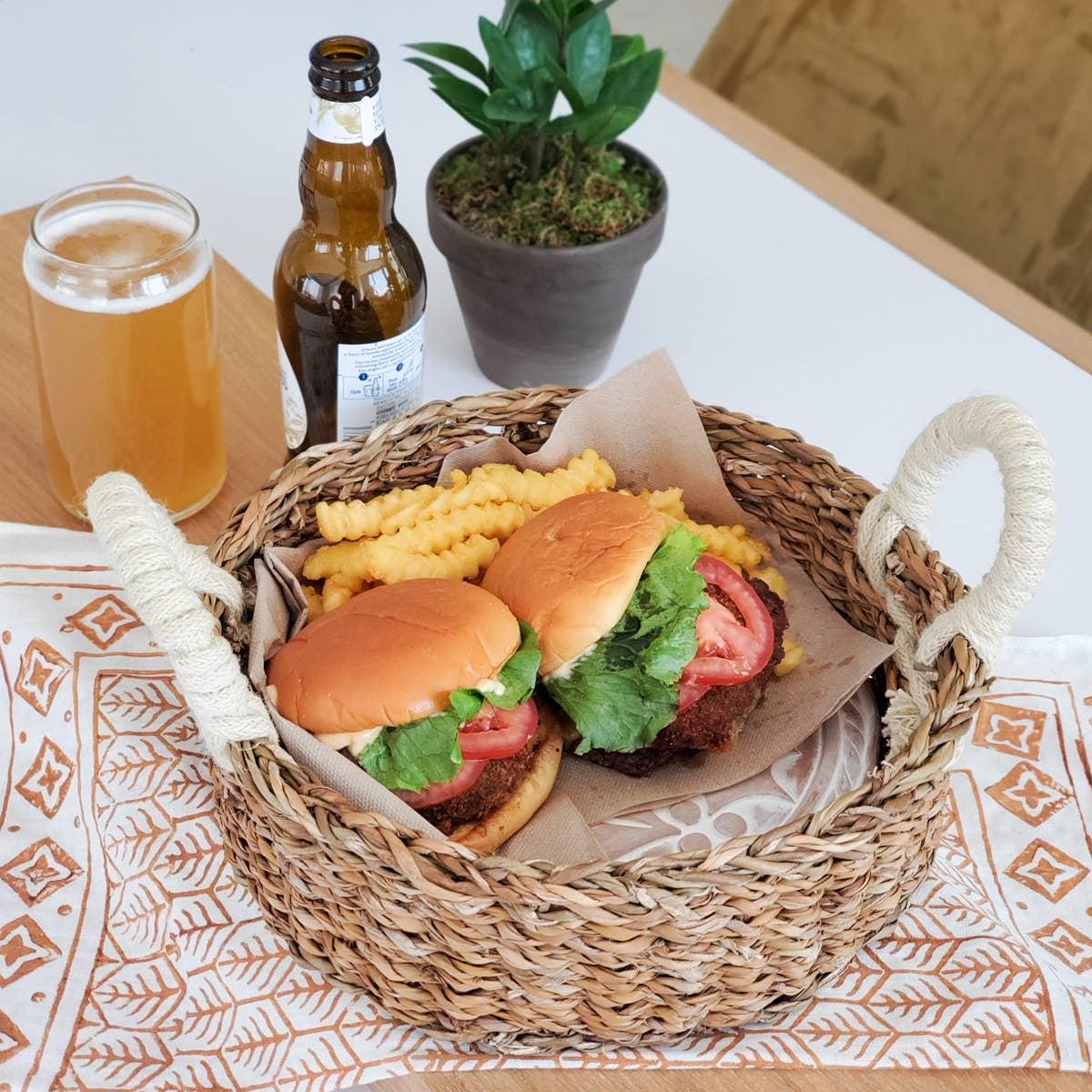 Bread Warmer & Basket - Owl Round | Trada Marketplace