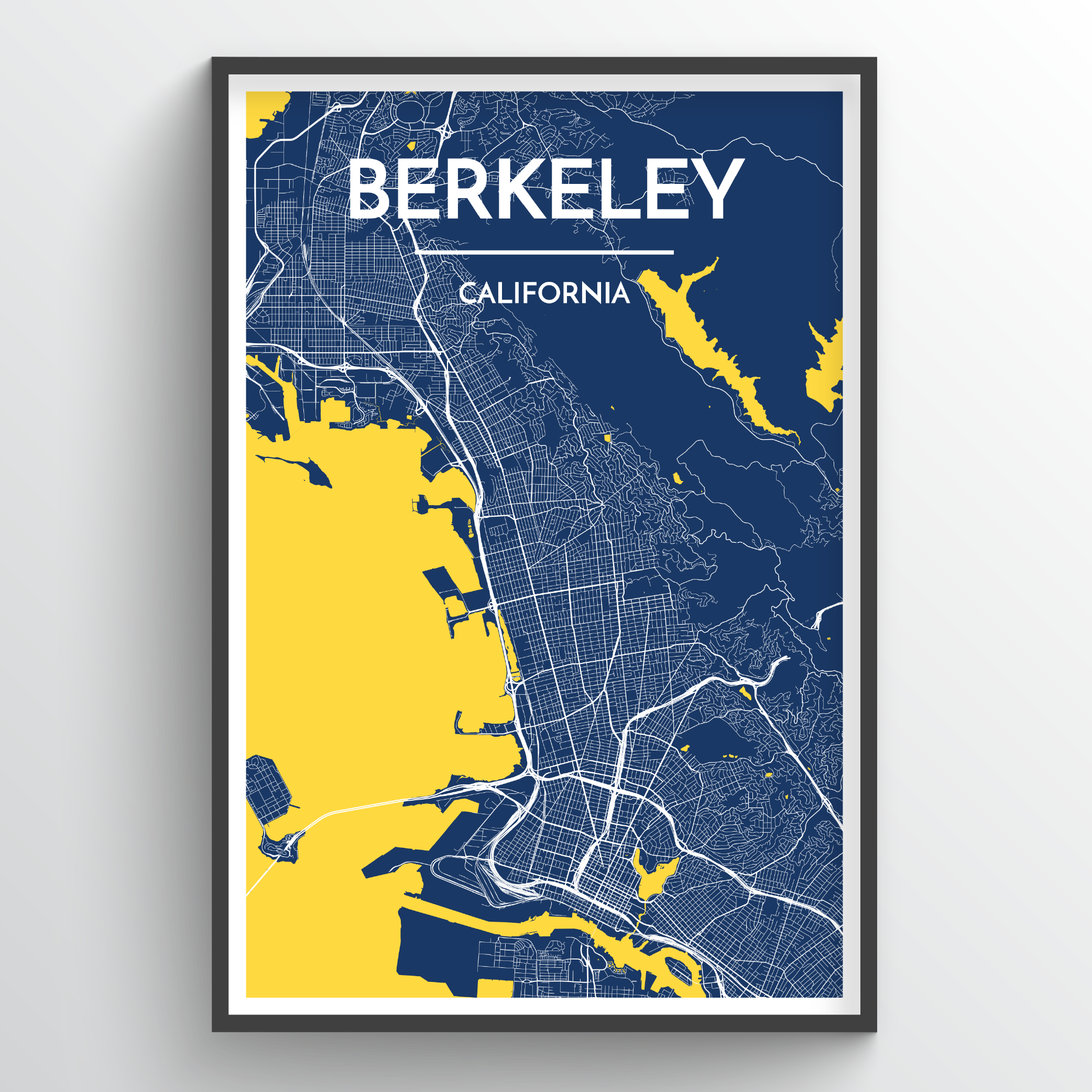 Berkeley City Map | Trada Marketplace