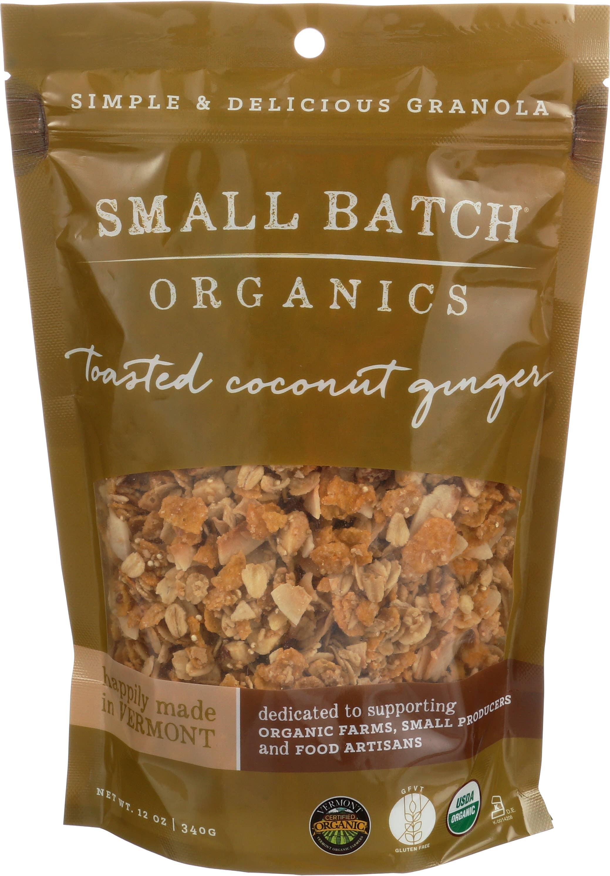 12oz Toasted Coconut Ginger Granola | Trada Marketplace