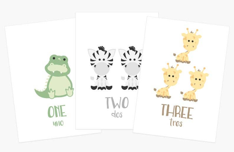 Counting Flashcards   Trada Marketplace