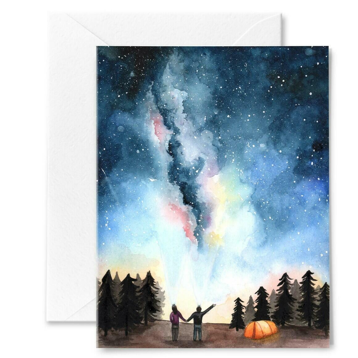 Galaxy Love Card | Trada Marketplace