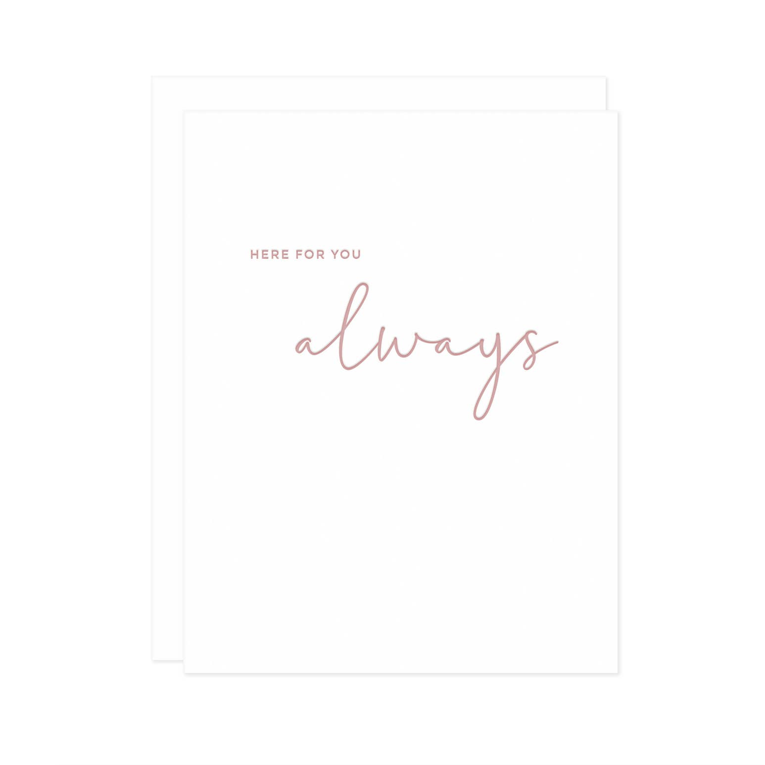 Here For You Always Card | Trada Marketplace