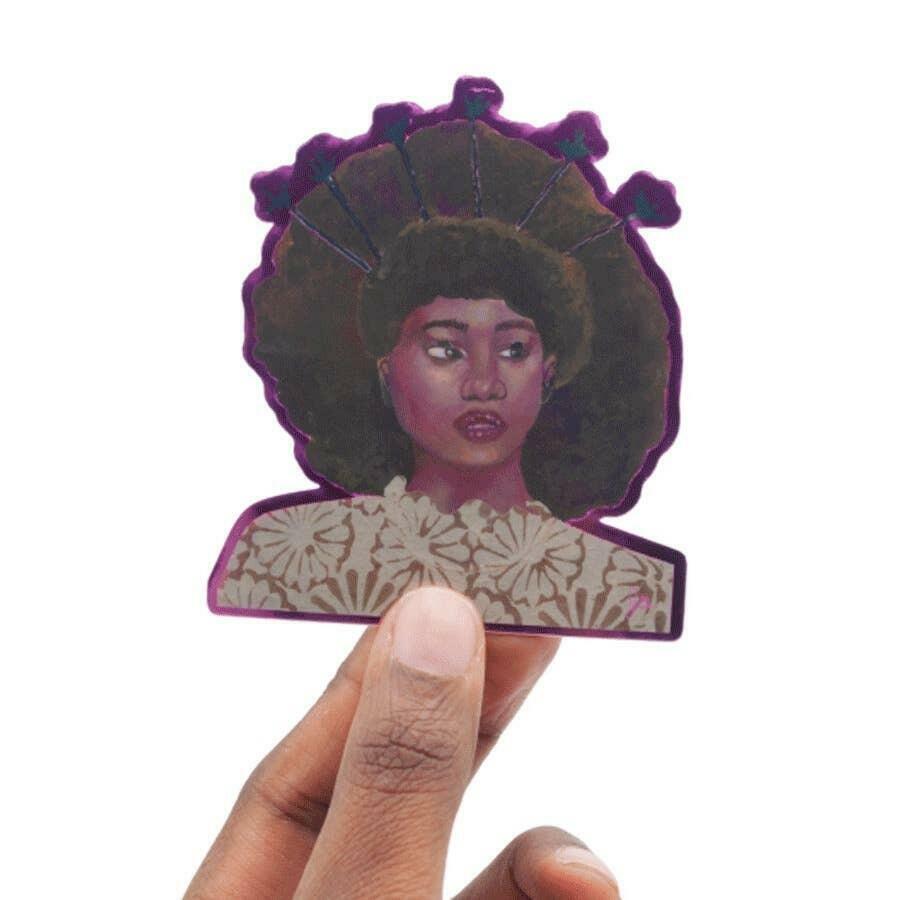 Portrait 5 Art Sticker | Trada Marketplace
