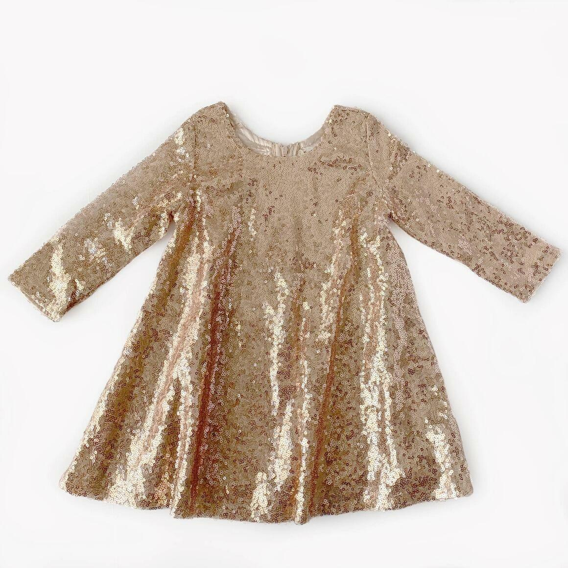 Rose Gold Sequin Dress | Trada Marketplace