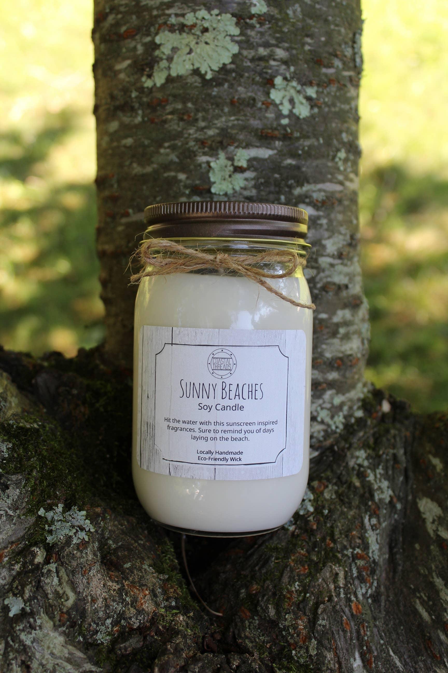 Sunny Beaches Soy Candle | Trada Marketplace