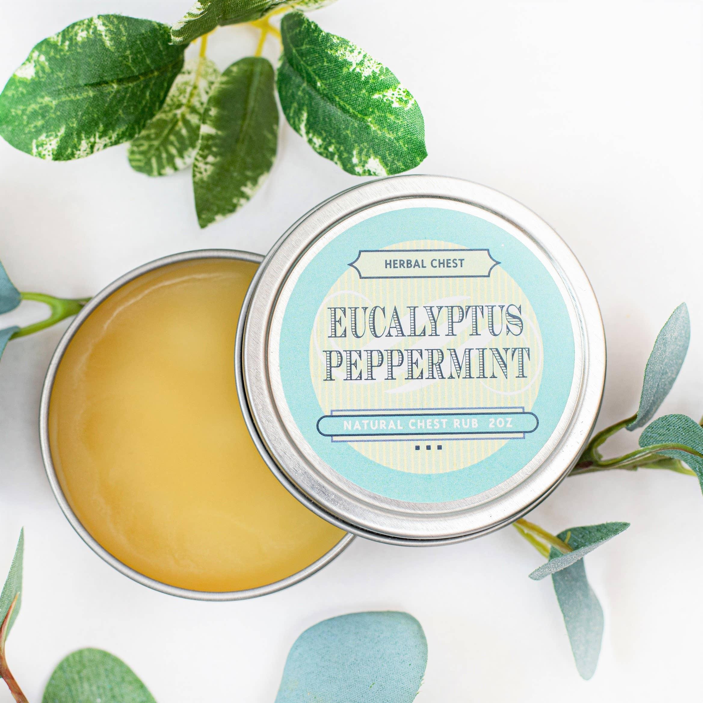 Natural Vapor Chest Rub - Eucalyptus Peppermint Salve | Trada Marketplace