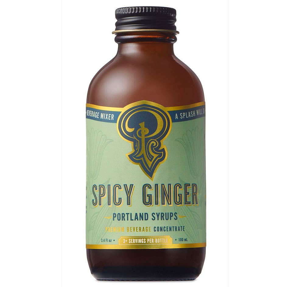 Spicy Ginger Syrup (100ml) | Trada Marketplace