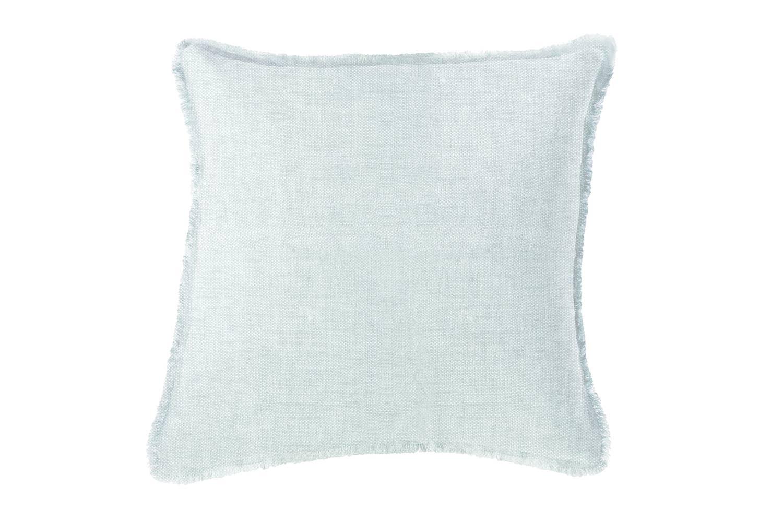 Light Blue Soft Linen Pillow   Trada Marketplace