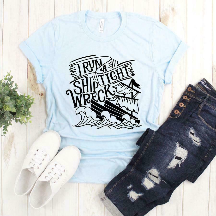 Tight Shipwreck Graphic Tee | Trada Marketplace