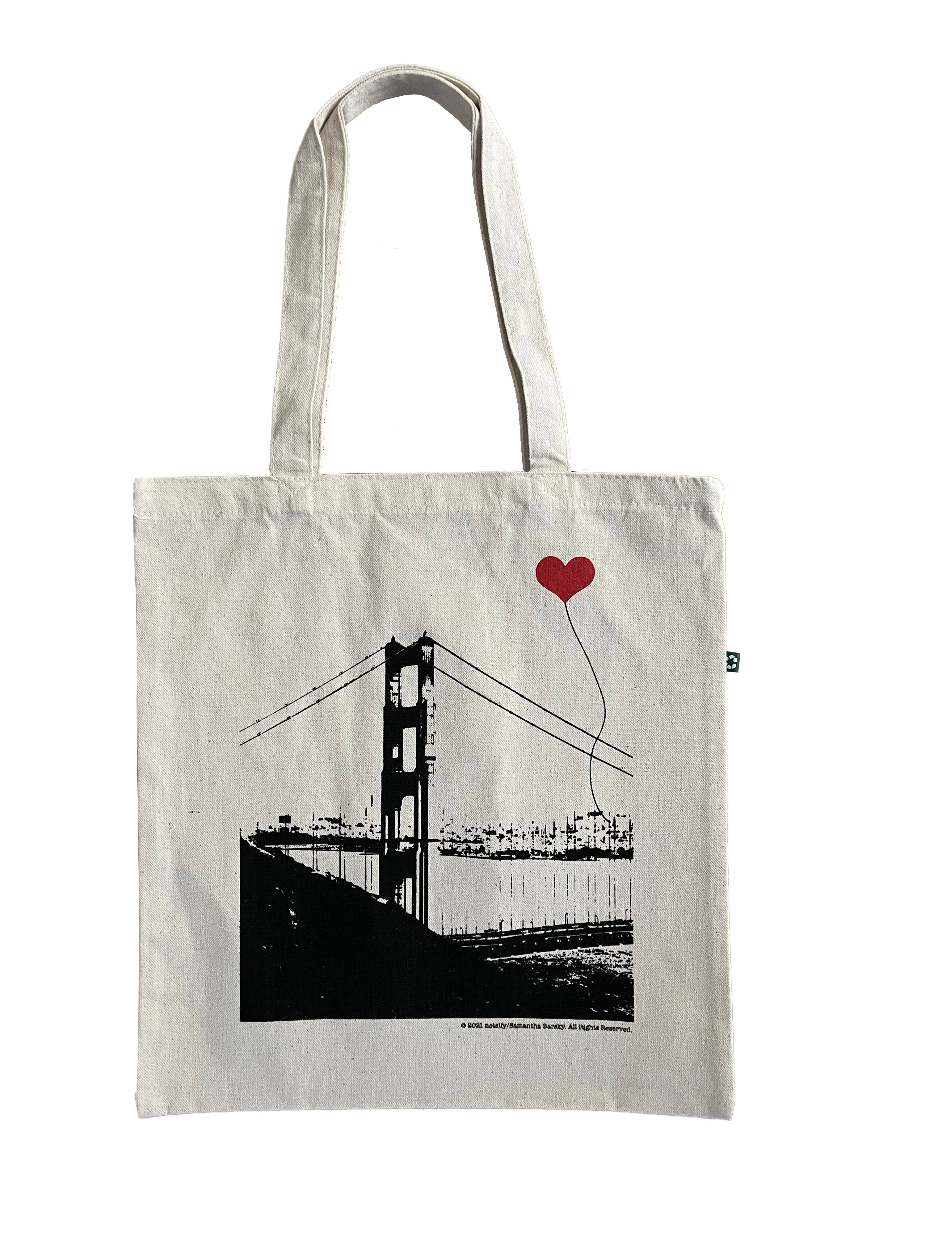 San Francisco Golden Gate Bridge Tote Bag | Trada Marketplace
