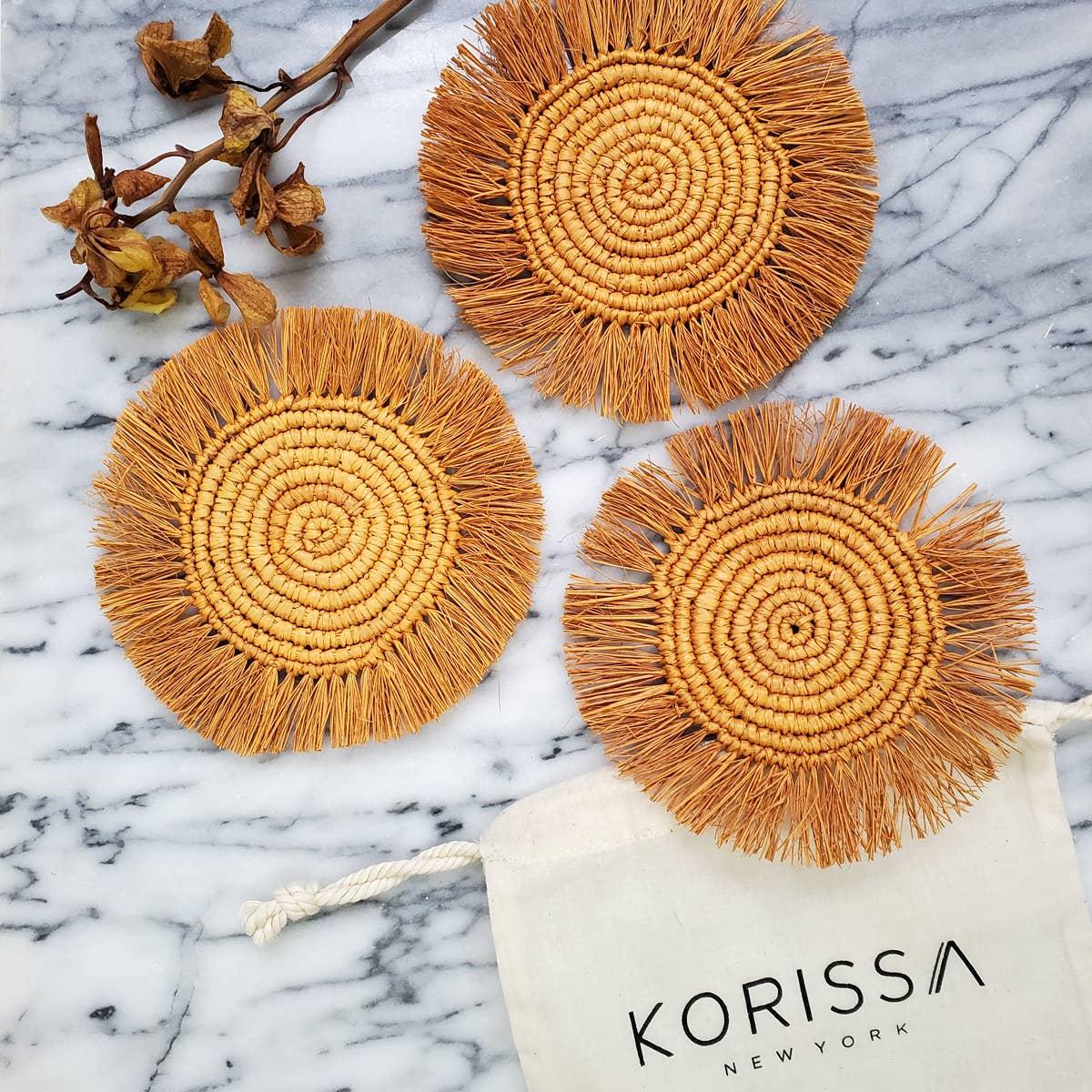 Flor Coaster - Marigold   Trada Marketplace