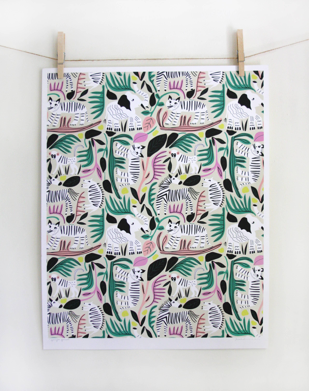 Jungle Forest Print | Trada Marketplace