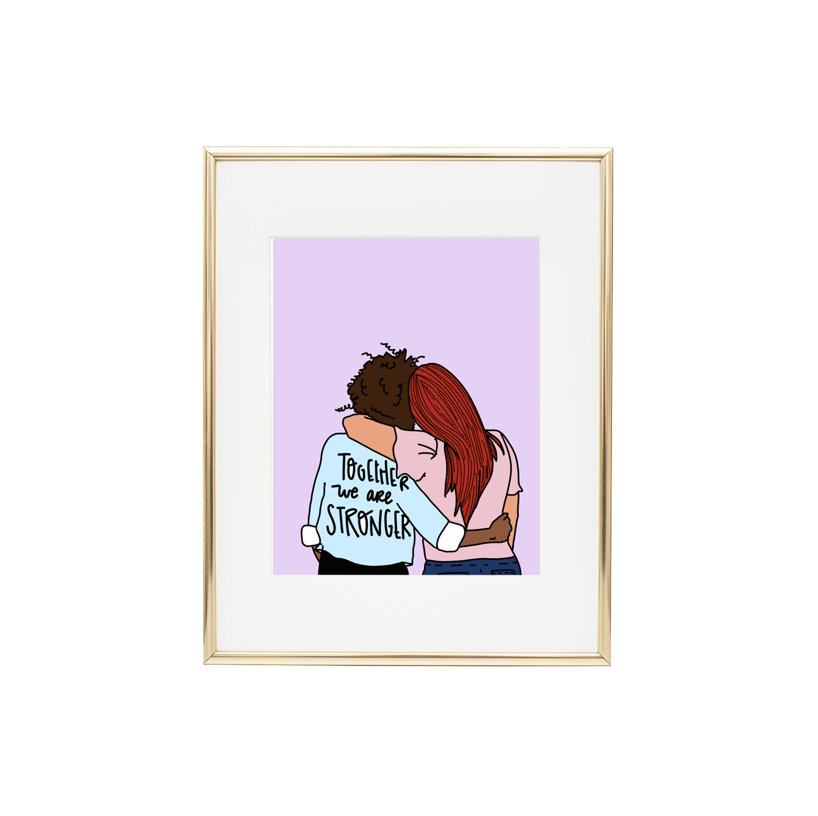 Together We Are Stronger Print | Trada Marketplace