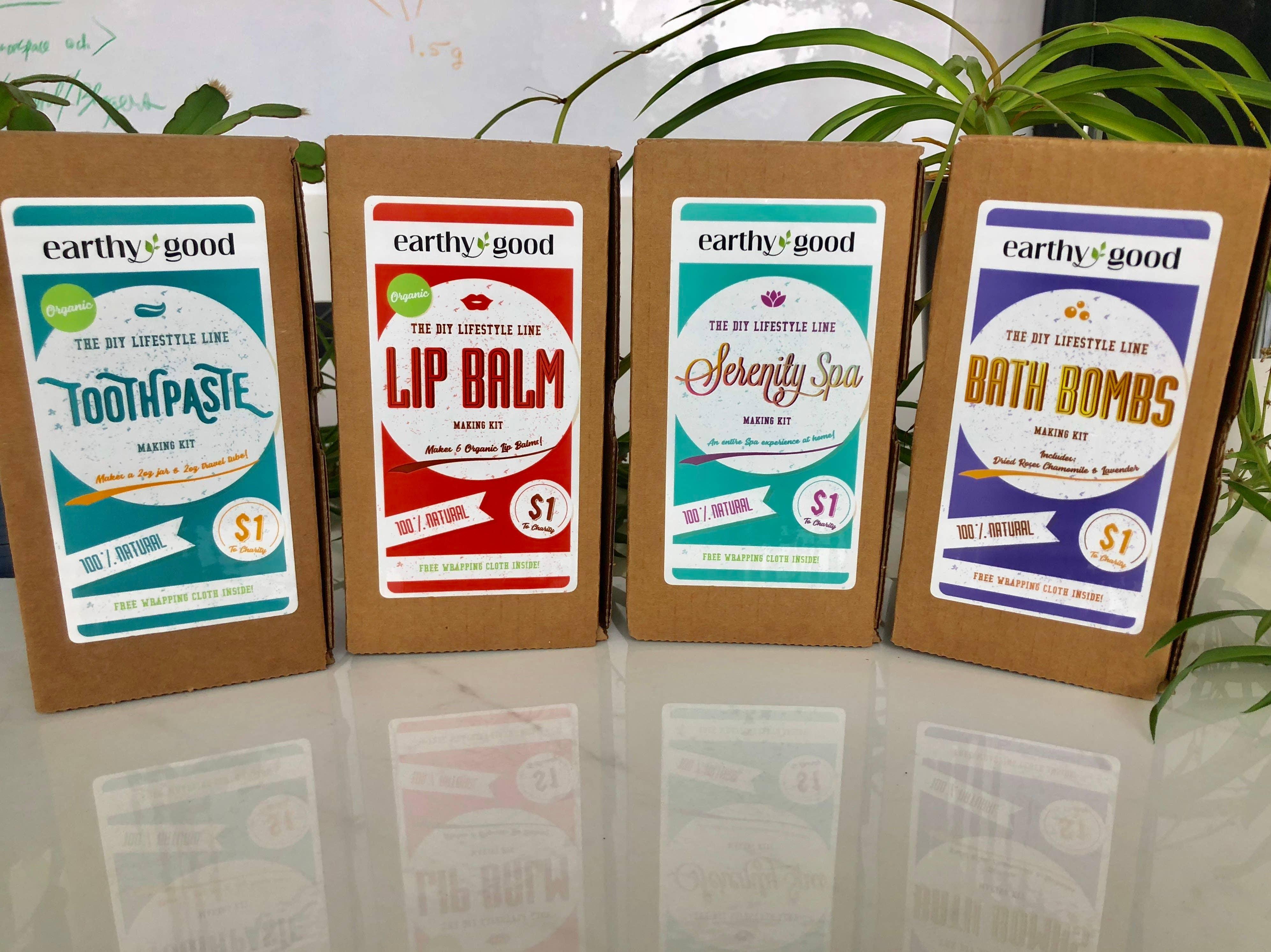28 Earthy Good All-Natural DIY Kits (Adults)   Trada Marketplace