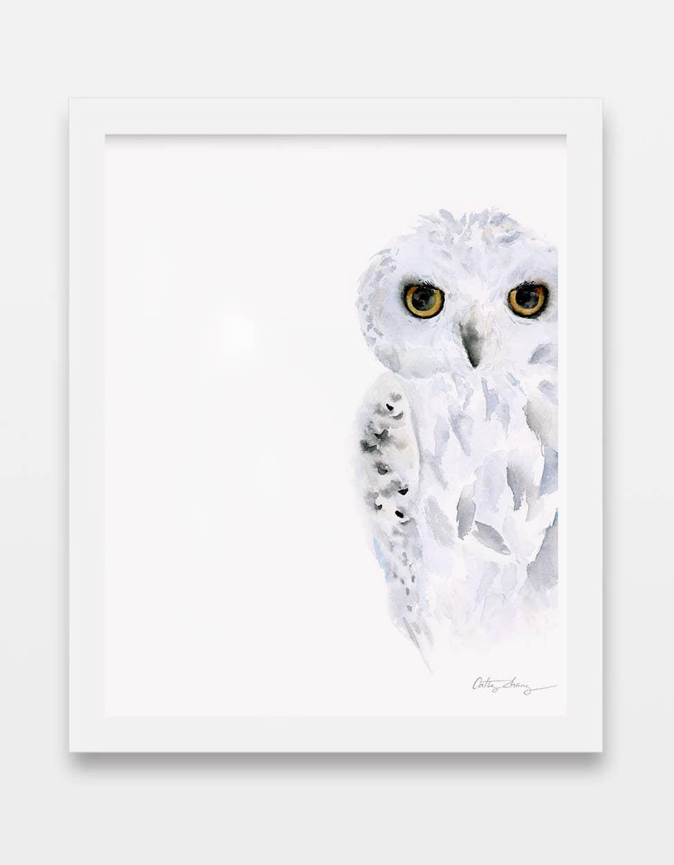 Snowy Owl Art Print | Trada Marketplace