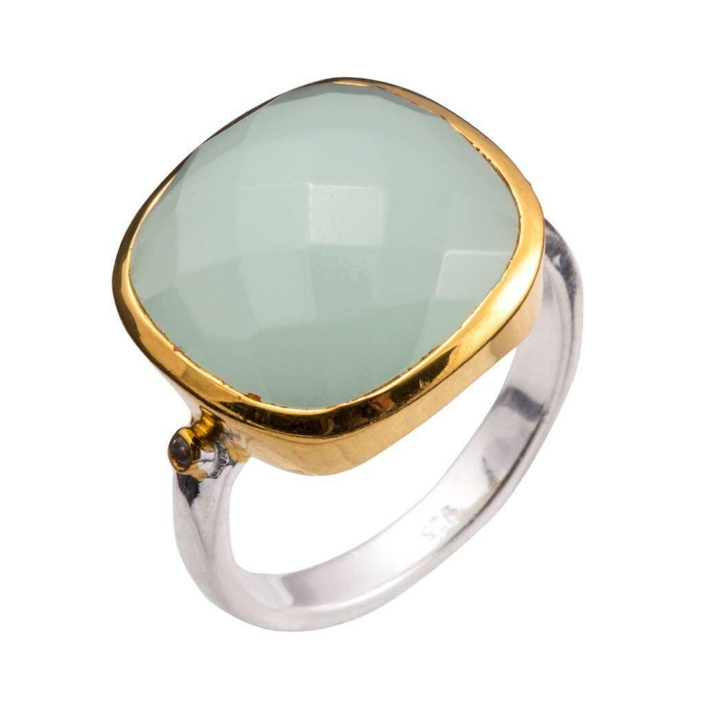 20% OFF Allure Two-Tone Chalcedony Ring   Trada Marketplace