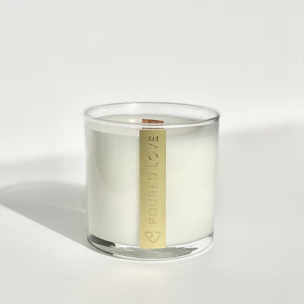 Woody Florals- Scented Candle | Trada Marketplace
