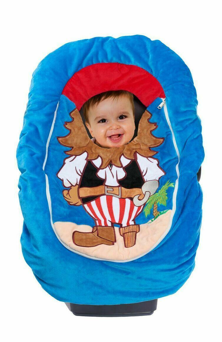 Car Seat Cuties Pirate: Infant Car Seat Cover   Trada Marketplace