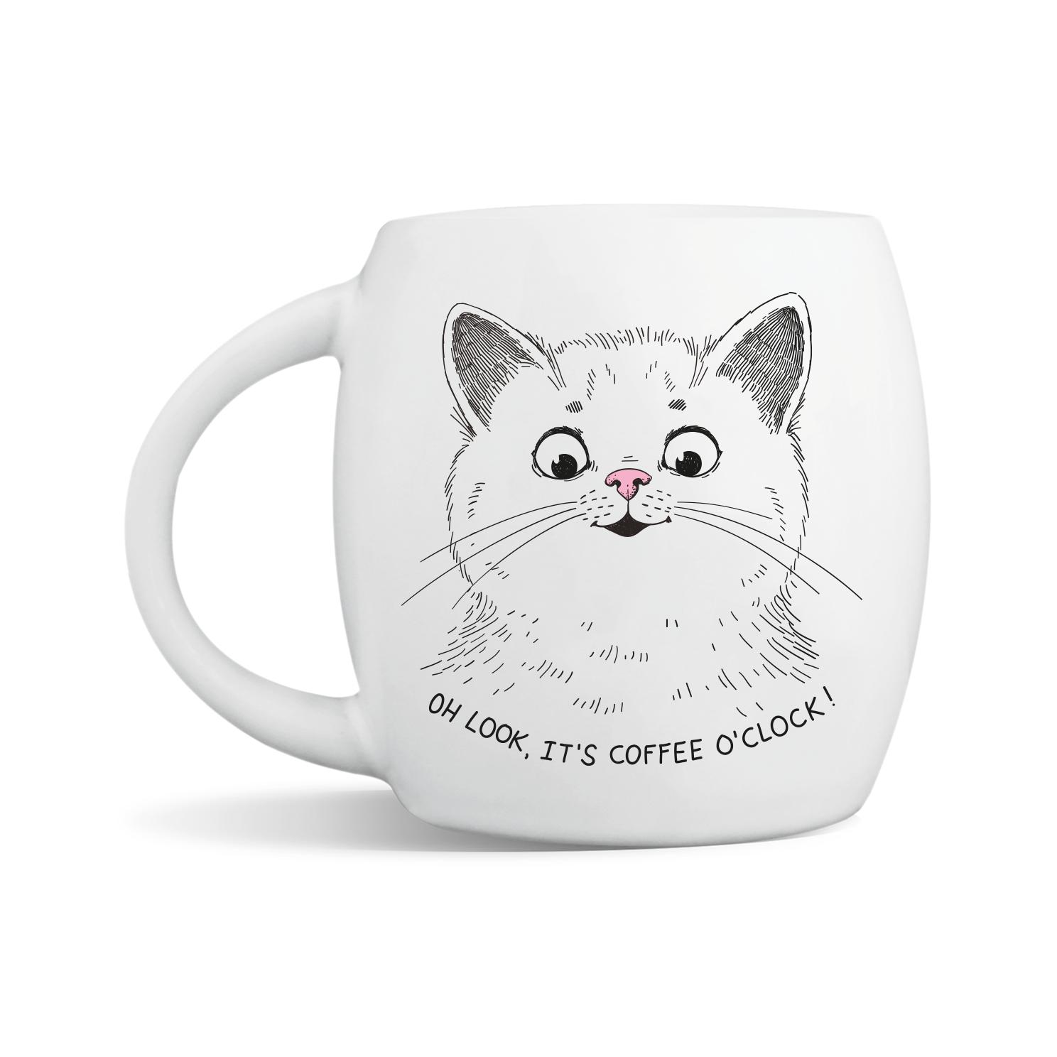 Surprised Kitten Mug | Trada Marketplace
