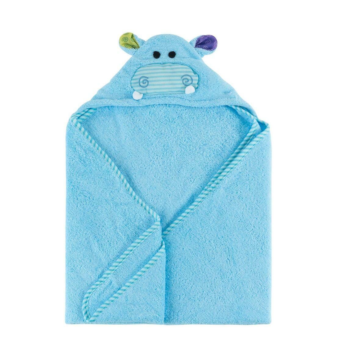 Henry the Hippo Baby Towel | Trada Marketplace