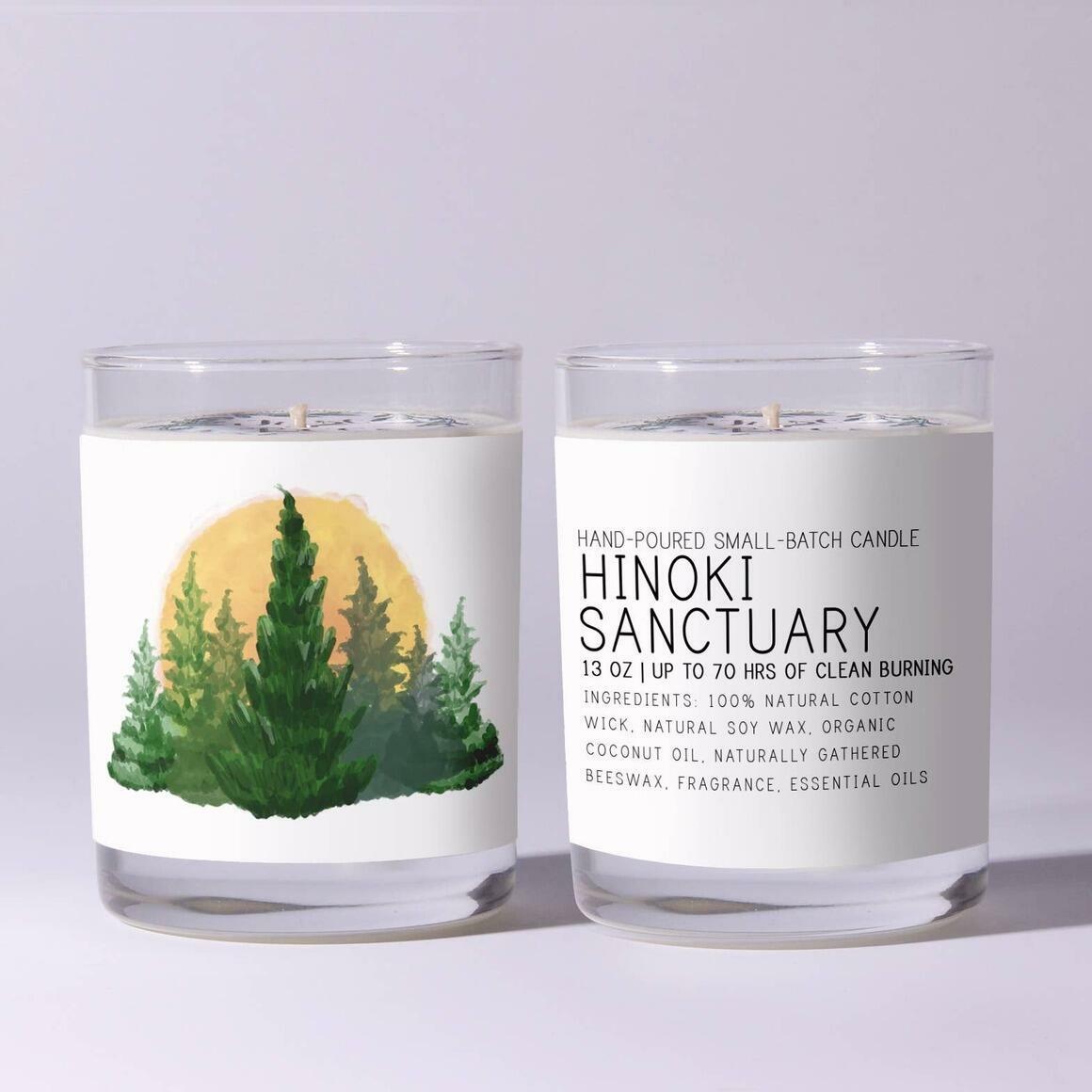 Hinoki Sanctuary - Just Bee Candles | Trada Marketplace