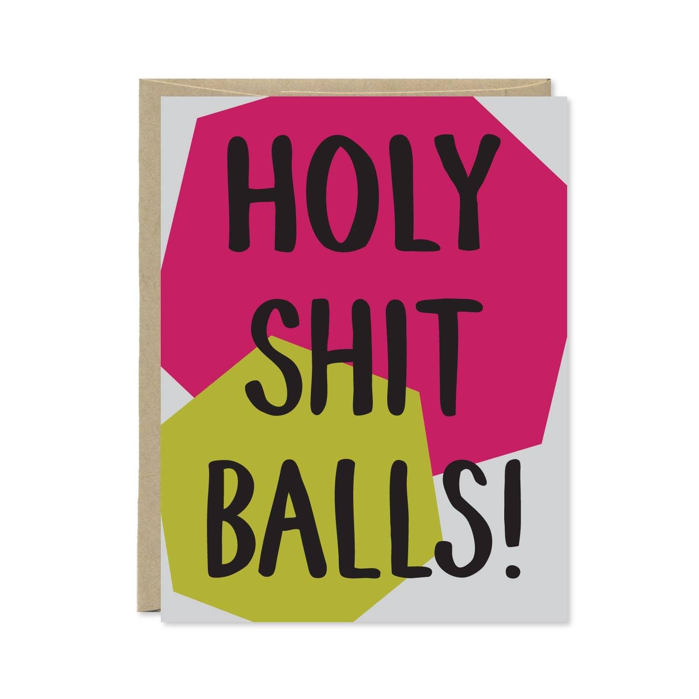 Holy Shit Balls Card | Trada Marketplace