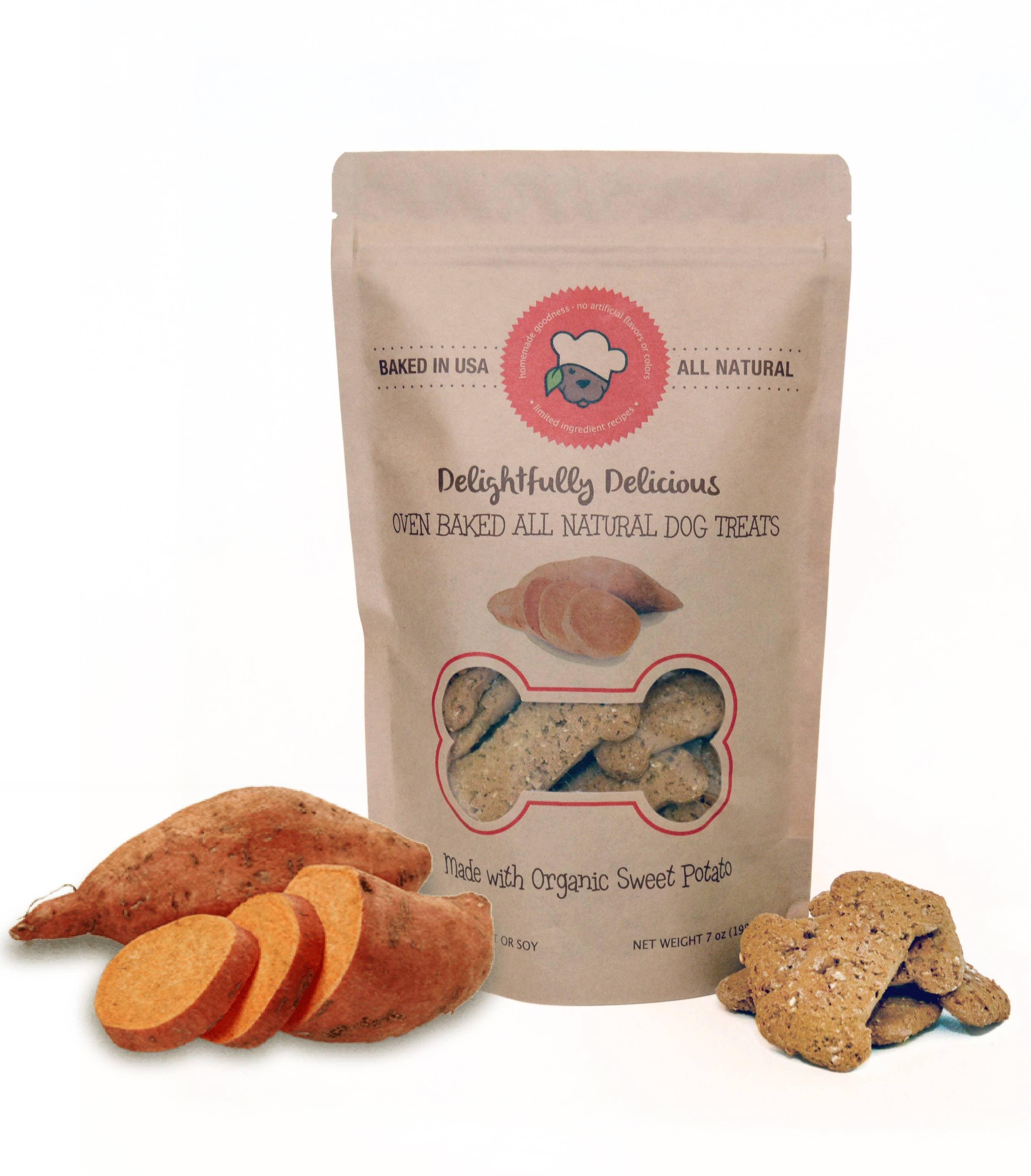 Sweet Potato All Natural Dog Treats | Trada Marketplace