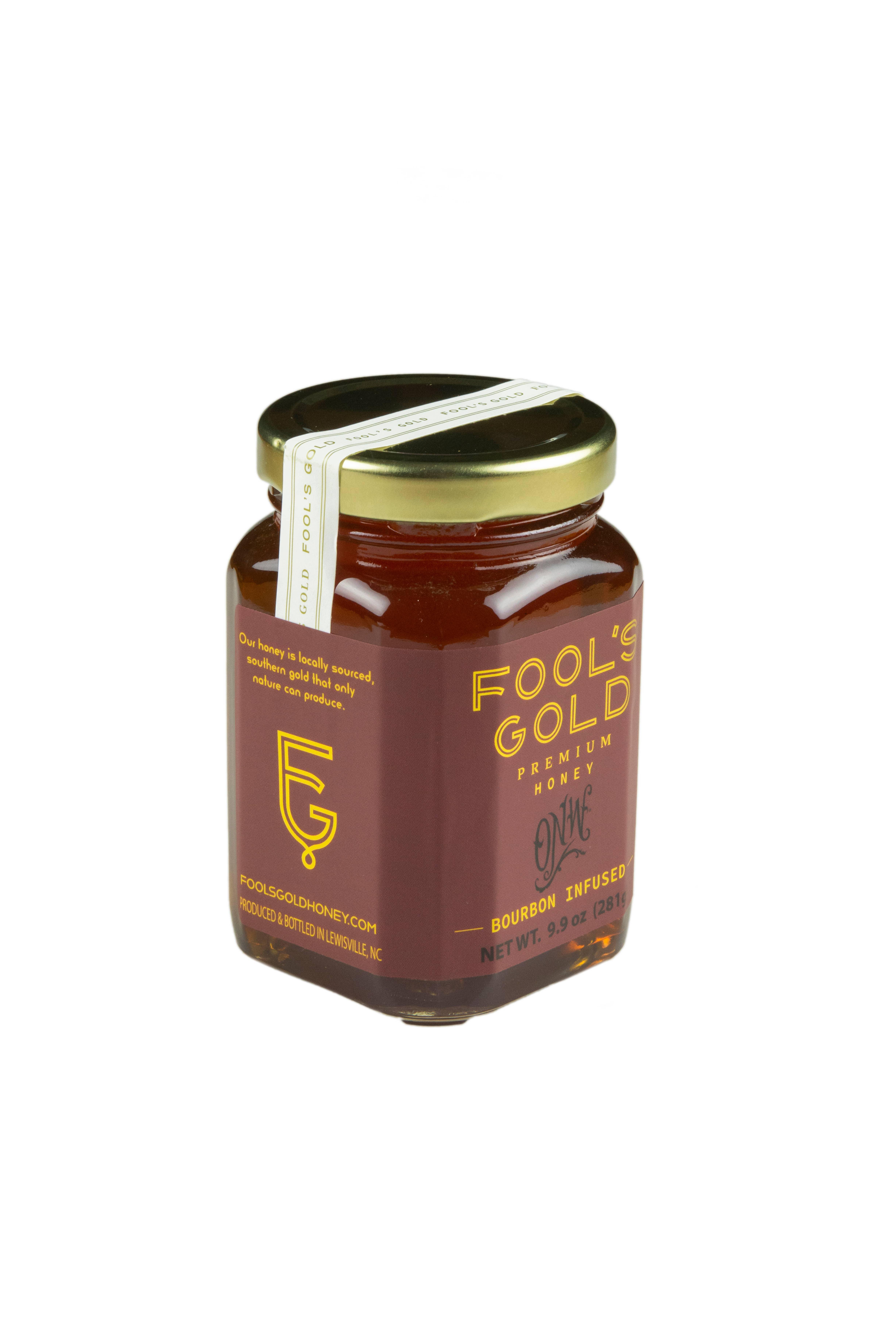 9.9oz Bourbon Infused Honey | Trada Marketplace