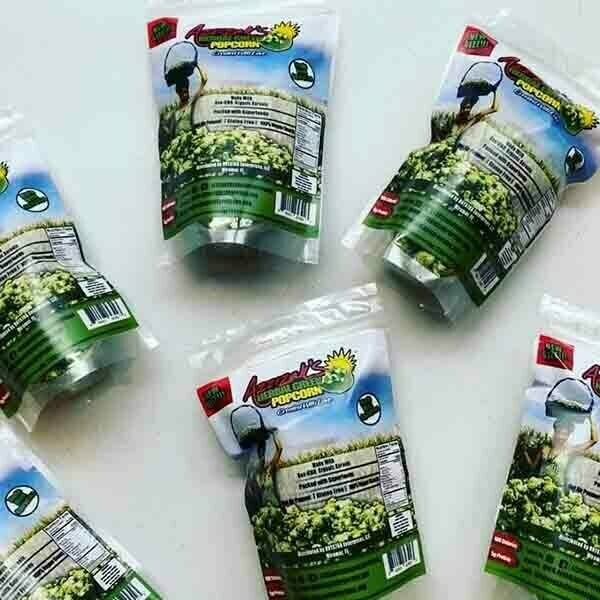 Azzizah's Herbal Green Popcorn | Trada Marketplace