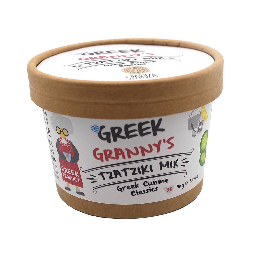 Sparoza - Greek Granny's Tzatziki Handcrafted Salad Mix | Trada Marketplace