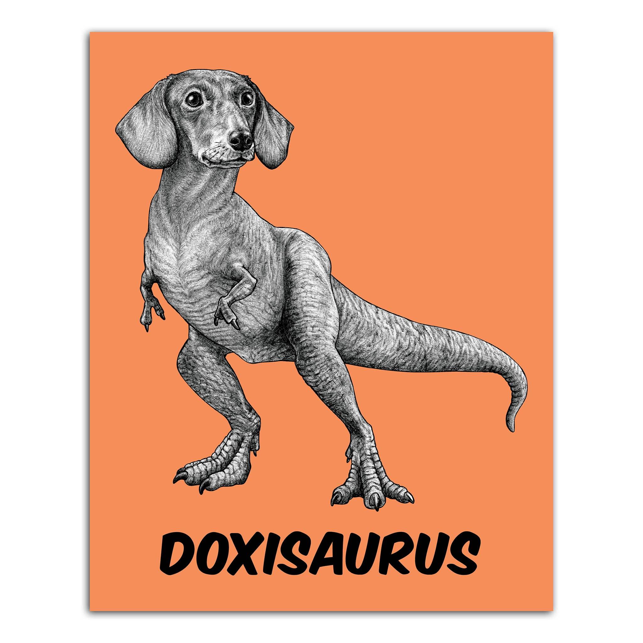 """Doxisaurus 8x10"""" Art Print   Trada Marketplace"""