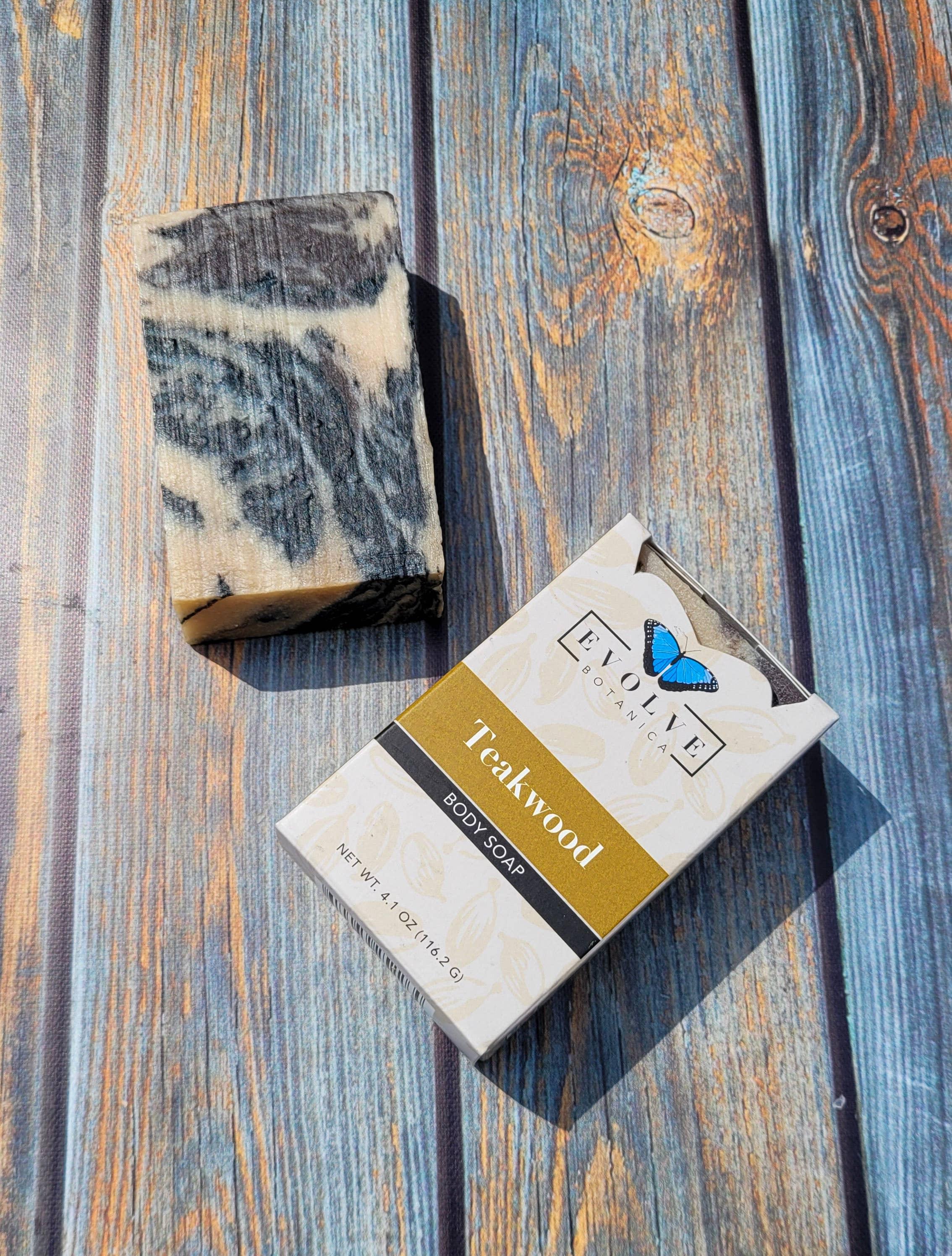 Evolve - Standard Soap - Teakwood | Trada Marketplace