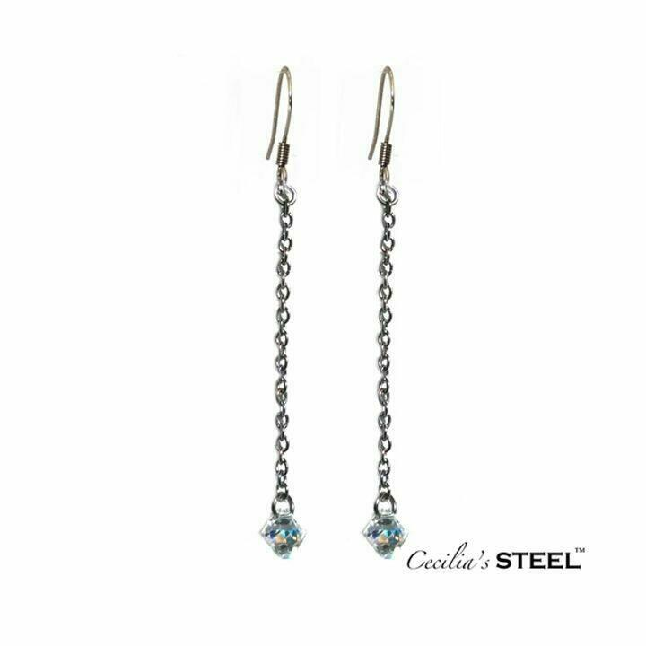 Crystal Whispers Earrings   Trada Marketplace
