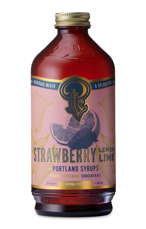 Strawberry Lemon Lime Syrup (12 oz) | Trada Marketplace