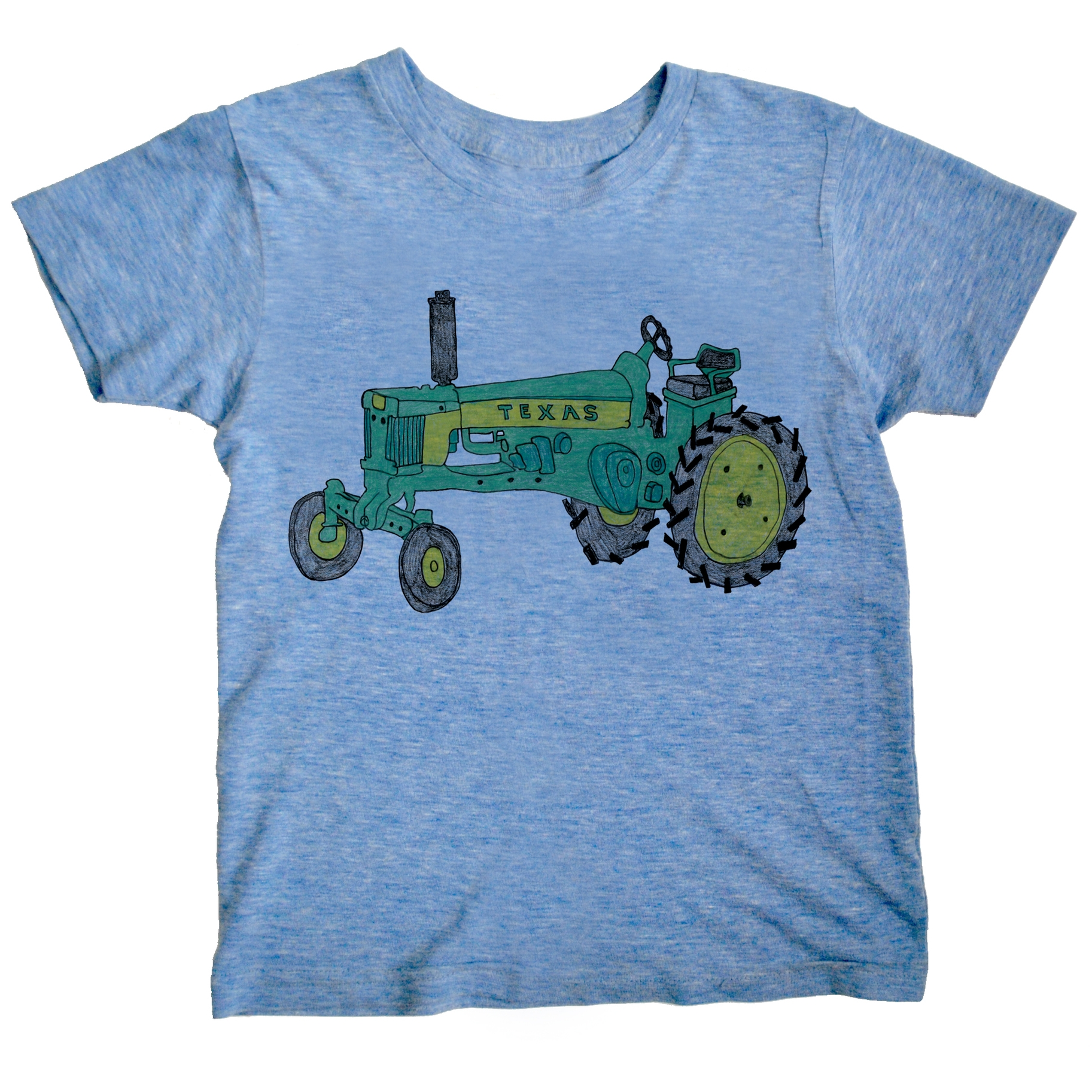 Tractor - Triblend - Blue | Trada Marketplace