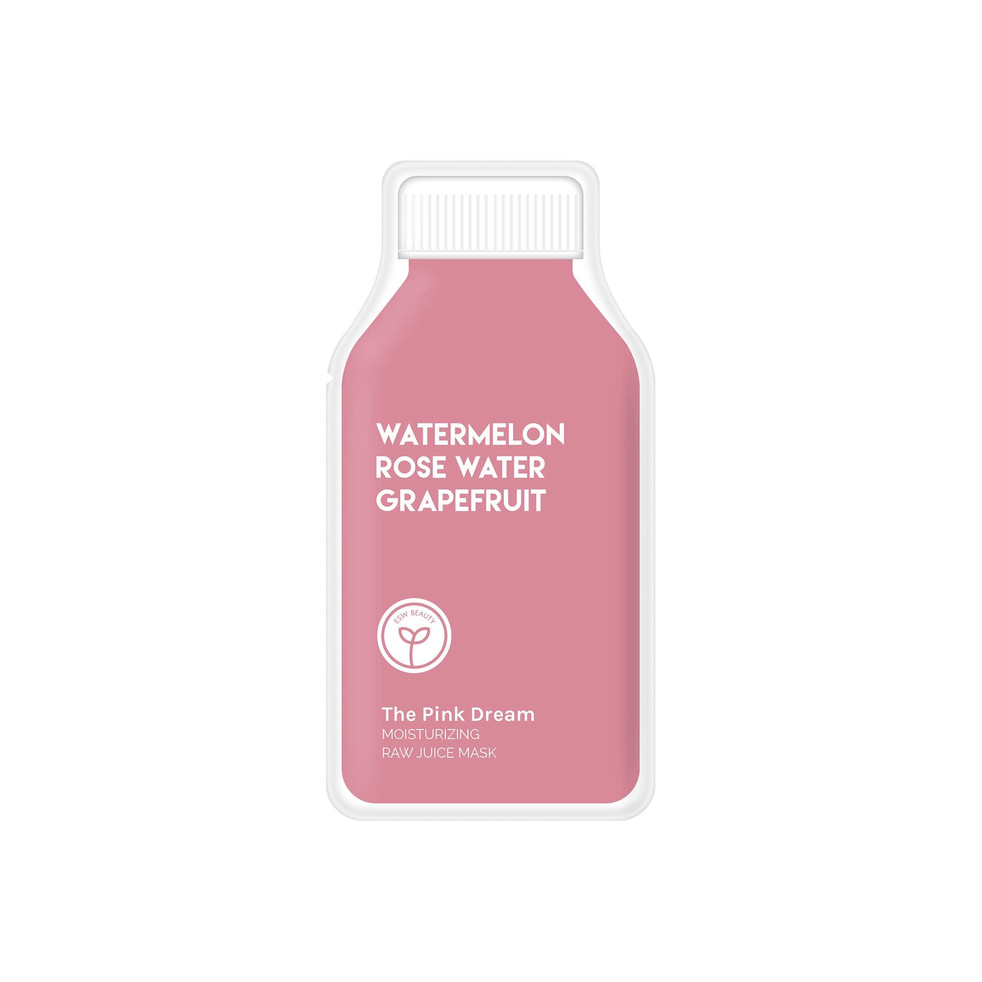 The Pink Dream Moisturizing Raw Juice Mask | Trada Marketplace