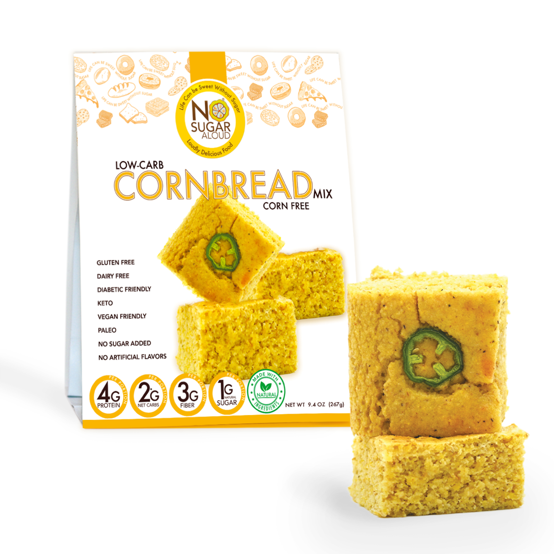 Low Carb Cornbread Mix - Corn Free   Trada Marketplace