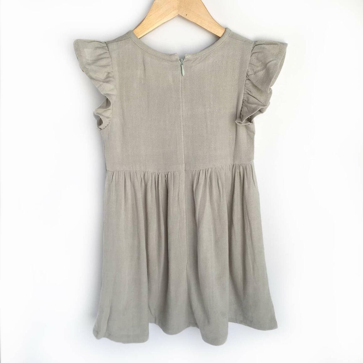 Grey Linen Dress | Trada Marketplace