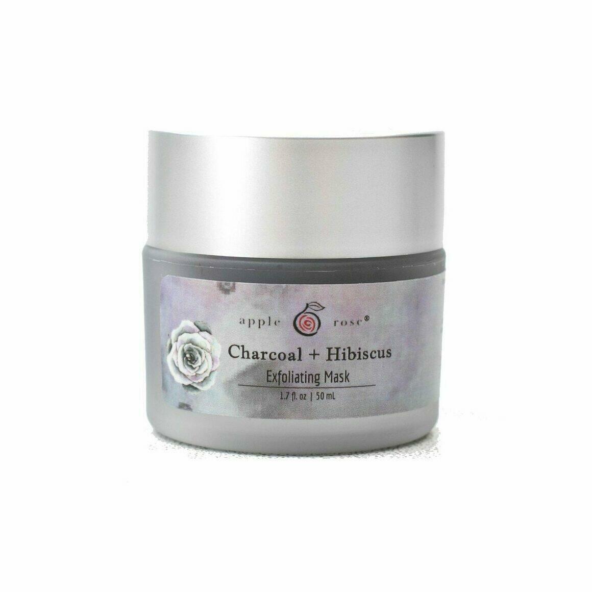 Charcoal + Hibiscus Exfoliating Mask   Trada Marketplace