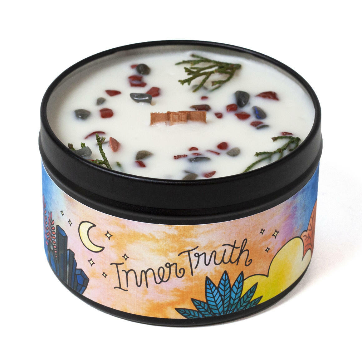 Inner Truth Magic Aromatherapy Candle - Woodsy & Spice | Trada Marketplace