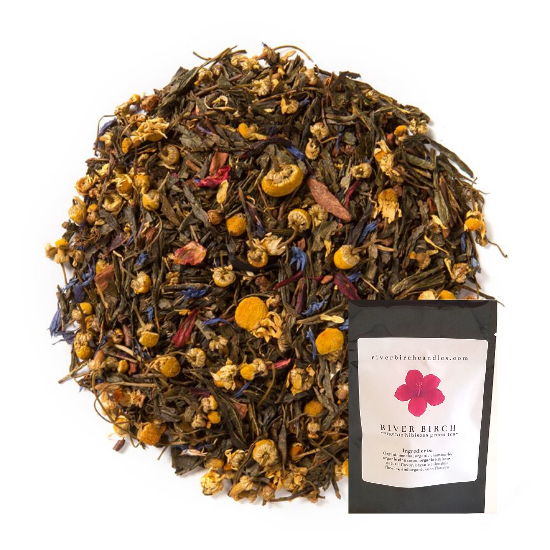 Organic Cinnamon Hibiscus Green Tea   Trada Marketplace