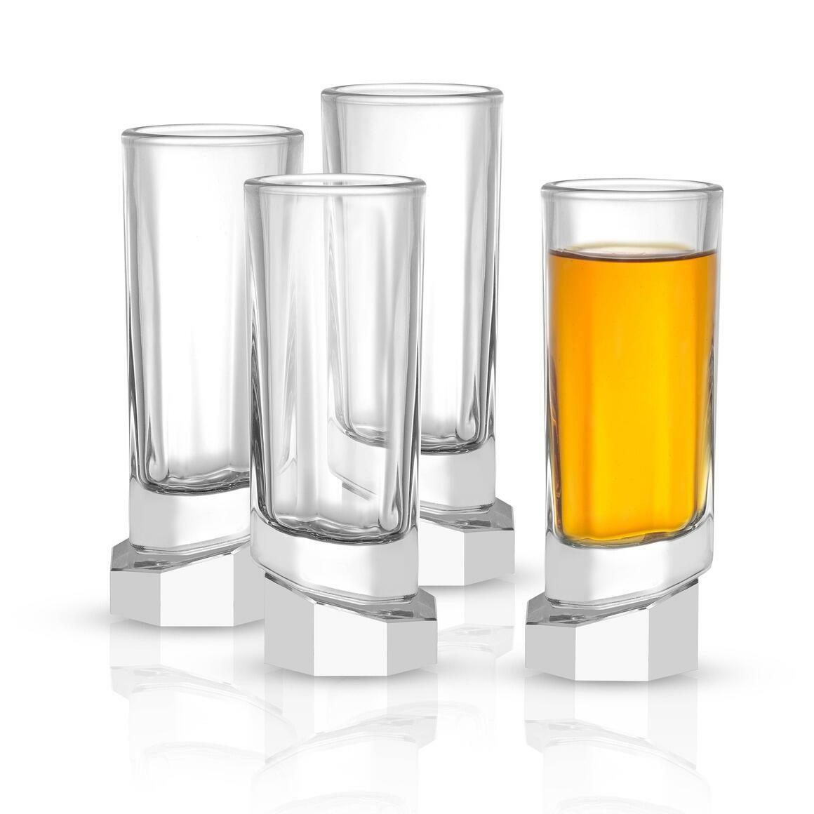 Aqua Vitae Octagon Shot Glass, 1.69oz (Set of 4)  | Trada Marketplace