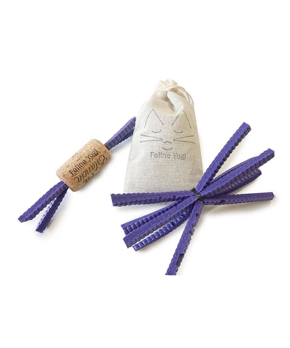 Purple Cat Toy Gift Set   Trada Marketplace