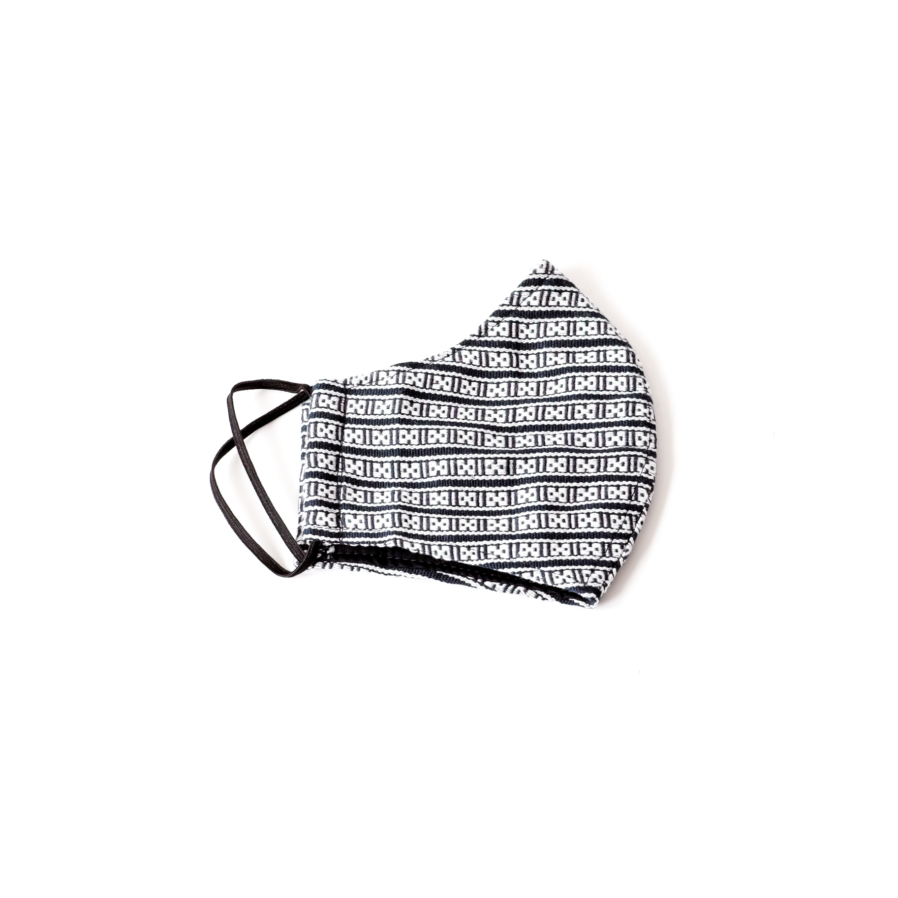 Face Mask - Handwoven, Eights | Trada Marketplace