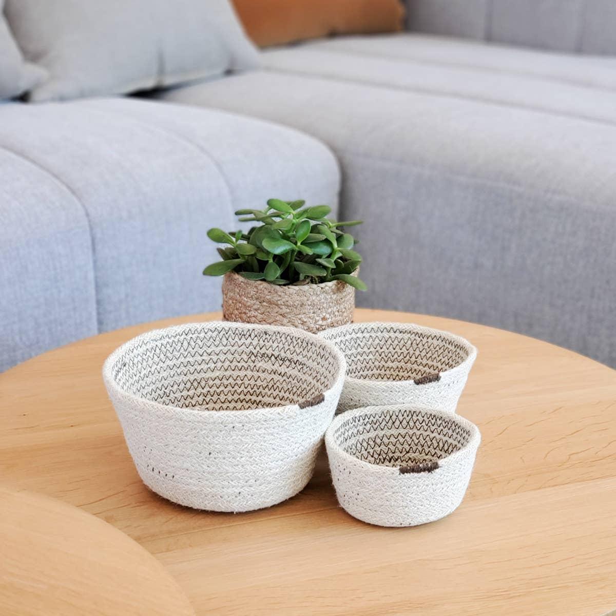 Amari Bowl - Brown (Set of 3)   Trada Marketplace