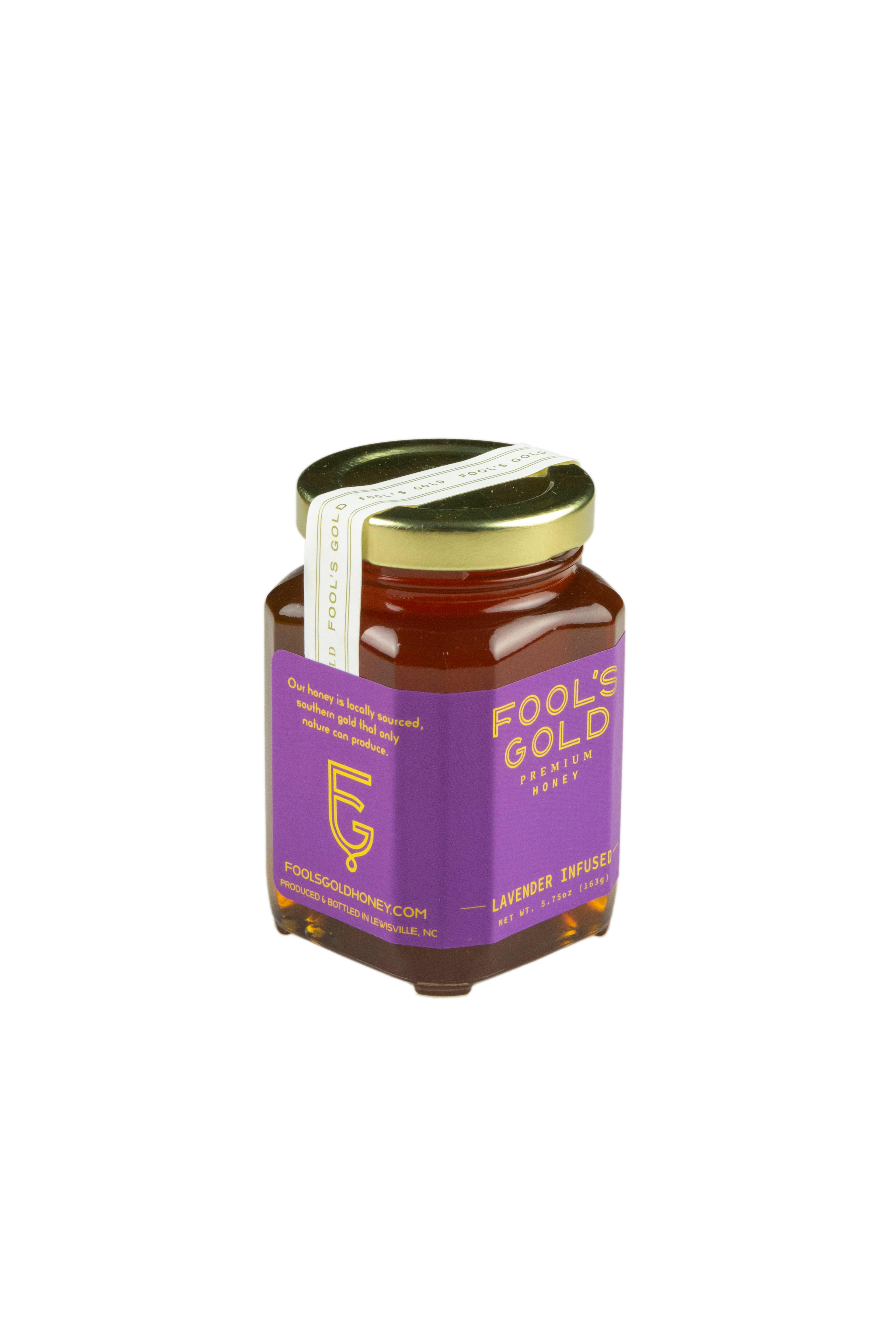 5.75oz Lavender Infused Honey | Trada Marketplace